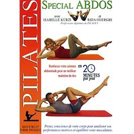 Pilates spécial abdos, Dvd