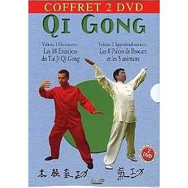 Coffret qi gong, Dvd