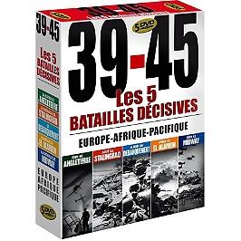 Coffret 39-45 : les batailles décisives, Dvd
