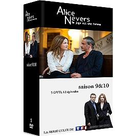 Coffret Alice Nevers - le juge est une femme, saisons 8 et 9, Dvd