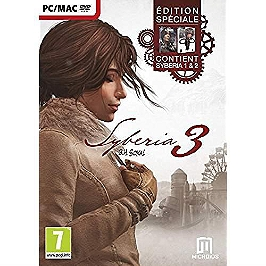 Syberia 3 - édition Day One (PC-MAC)