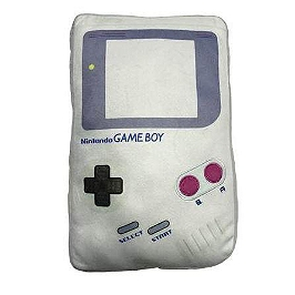 Coussin nintendo game boy retro