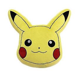 Pokemon coussin pikachu tête 20cm