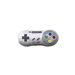 Nintendo coussin manette snes 20cm