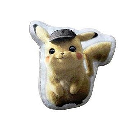 Pokemon coussin pikachu detective 20cm