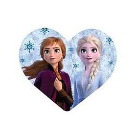 Coussin Disney coeur reine des neige 2 20 cm