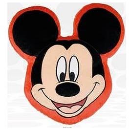 Coussin Disney tête Mickey 20 cm