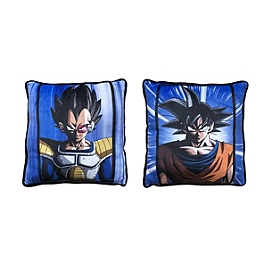 Dragon ball Z coussin carré Vegeta et Goku
