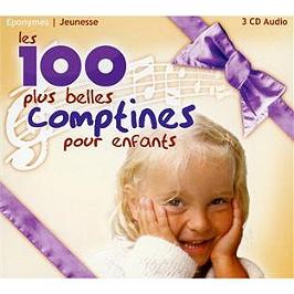 Les 100 plus belles comptines pour enfants, CD Digipack