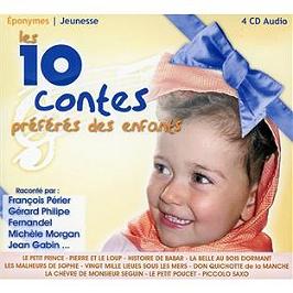 Les 10 contes préférés des enfants, CD Digipack