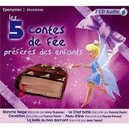 Les 5 contes de fées préferés des enfants, CD Digipack
