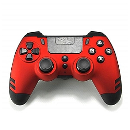 Manette sans-fil steelplay metaltech - rouge rubis (PS4) (PS4)