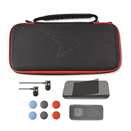 Kit carry & protect 11 en 1 steelplay (switch) - 2 housses manettes offertes (SWITCH)