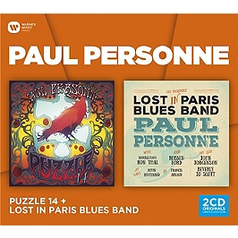 Coffret 2cd : lost in Paris blus band, CD