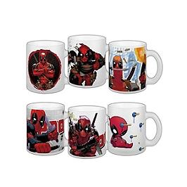 Assortiment mugs deadpool série 5