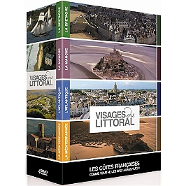 Coffret visages du littoral 4 documentaires, Dvd