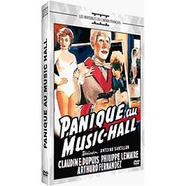 Panique au music-hall, Dvd
