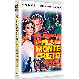 Le fils de Monte Cristo, Dvd
