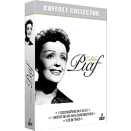 Coffret Edith Piaf, édition collector, Dvd