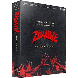 Zombie, édition collector, Blu-ray