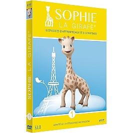 Sophie la girafe, vol. 1; 10 épisodes d'apprentissage et 5 comptines, Dvd