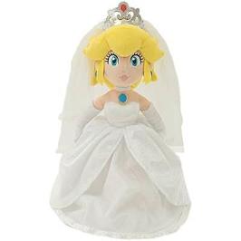 Super mario odyssey peluche premium box peach mariage 40cm / 4