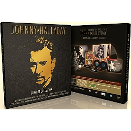Coffret Johnny Hallyday, édition collector, Dvd