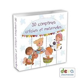 50 comptines crèches et maternelles, CD