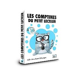 Les comptines du petit lecteur, 6cd + livre, CD + Box