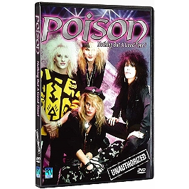 Poison, nothing but a good time !, Dvd