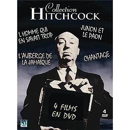 Coffret collection Hitchcock 4 films, Dvd