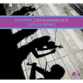 Schumann, les trois quatuors à cordes op.41, CD Digipack