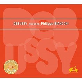 Debussy préludes, CD