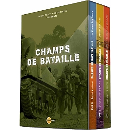 Coffret champs de bataille, Dvd