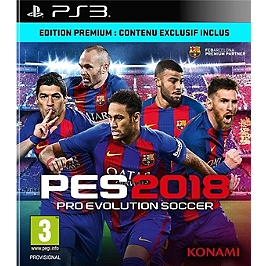 PES - pro evolution soccer 2018 - premium D1 edition (PS3)
