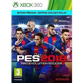 PES - pro evolution soccer 2018 - premium D1 edition (XBOX360)