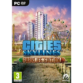 Cities : skyline - park life edition (PC)