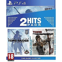 Bipack Tomb Raider Definitive Edition + Rise of the Tomb Raider (PS4)