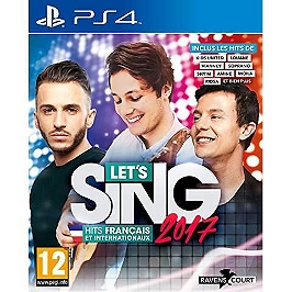 Let's sing 2017 - hits français et internationaux (PS4)