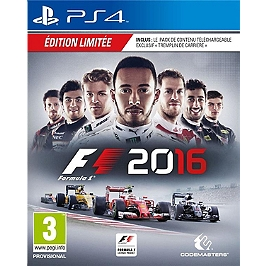 F1 2016 - édition day one (PS4)