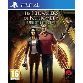 Les chevaliers de Baphomet : la malediction du serpent (PS4)