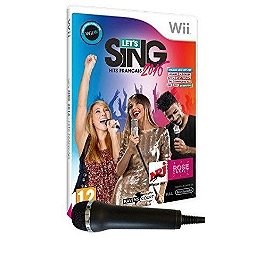Pack let's sing 2016 - hits francais & 1 micro (WII)