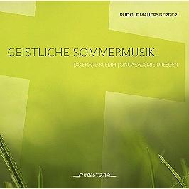 Geistliche Sommermusik, CD
