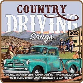 Country driving songs, CD + Box