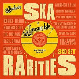 Treasure isle ska rarities, CD + Box