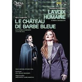 La voix humaine - Le château de Barbe Bleue, Dvd Musical