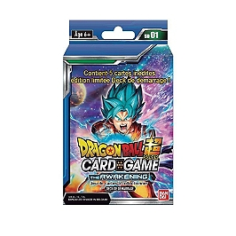Dragon ball super card game - Starter 1x6 blister