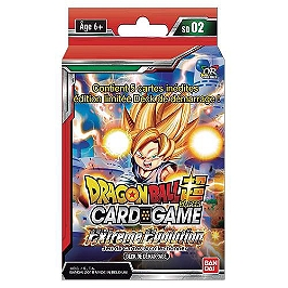 Dragon ball super jcc - Booster serie 2x26 blister