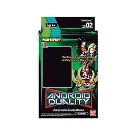Dragon ball super JCC expert deck 2 android duality x6