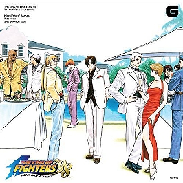 Vinyle - The king of fighters '98 the definitive soundtrack 2LP
